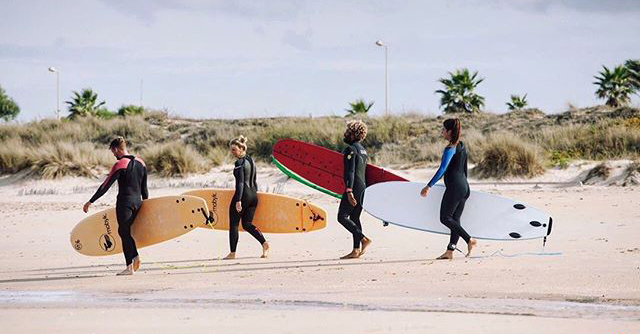 school and surfcamp boards